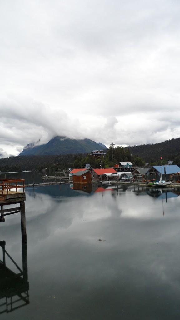 Part of the halibut cove community