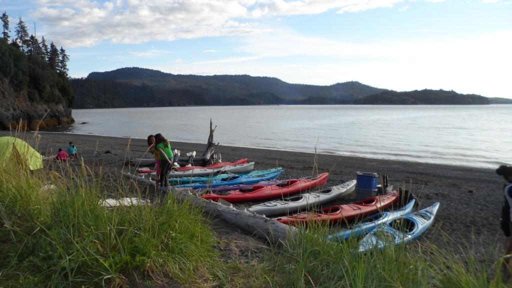 last day - kayaks