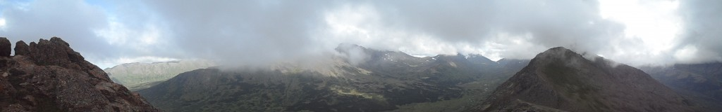 panoramic view at the top (sorry for the scrolling!)